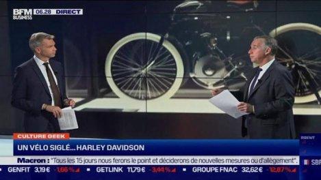 Culture Geek :Un vélo signé... Harley
