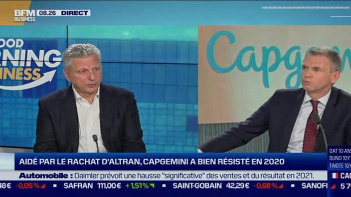 Aiman Ezzat, Directeur Général de Capgemini