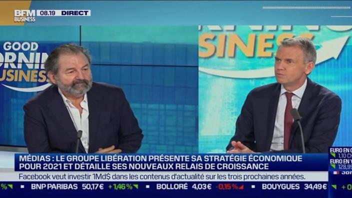 Denis Olivennes, DG et co-gérant de Libération
