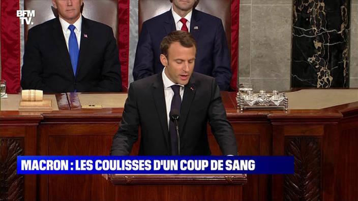 Emmanuel Macron : les coulisses d'un coup de sang