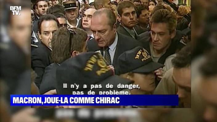 En 1996, Jacques Chirac s'était emporté à