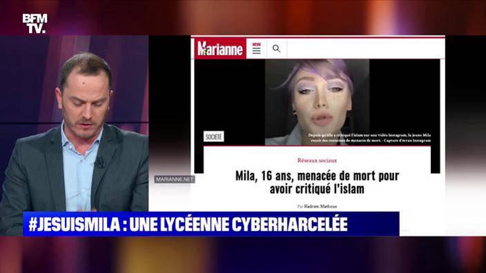 #JeSuisMila: une lycéenne cyberharcelée