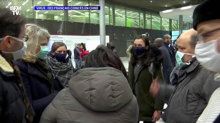 Virus: Des Français coincés en Chine