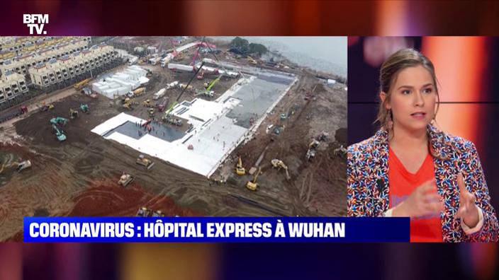 Coronavirus: hôpital express à Wuhan