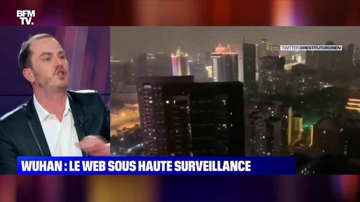 Wuhan : le web sous haute surveillance