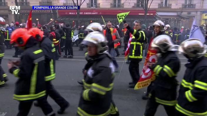 Pompiers, la grande colère