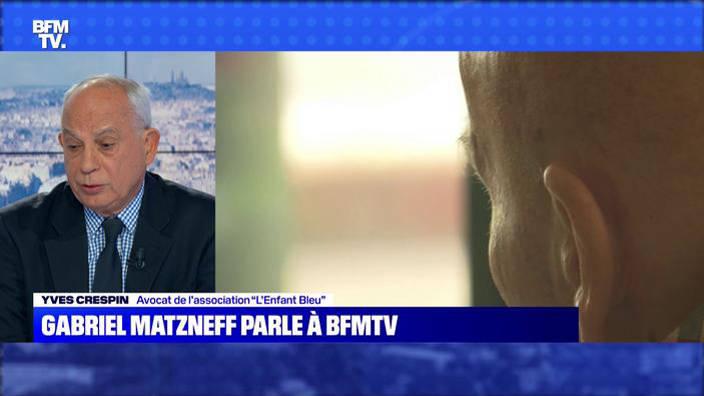 Gabriel Matzneff parle à BFMTV