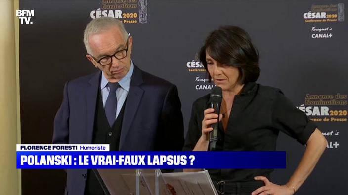 Roman Polanski : le vrai-faux lapsus ?