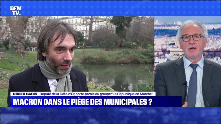 Macron dans le piège des municipales ?