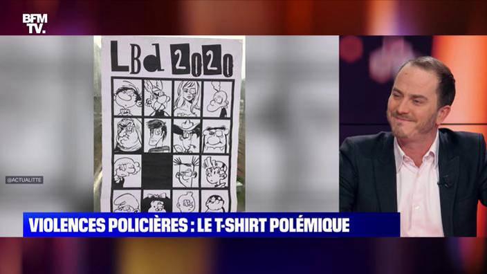 Violences policières : le T-shirt polémique