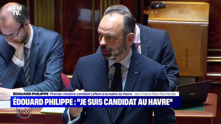 "Edouard Philippe: ""Je suis candidat au Havre"""