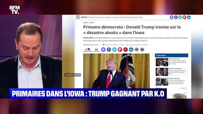 Primaires démocrates dans l'Iowa : Donald
