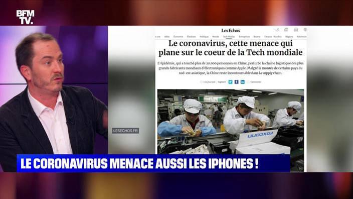 Le Coronavirus menace aussi les iPhone !