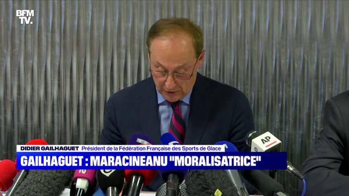 Didier Gailhaguet, déjà au cœur d'un scandale