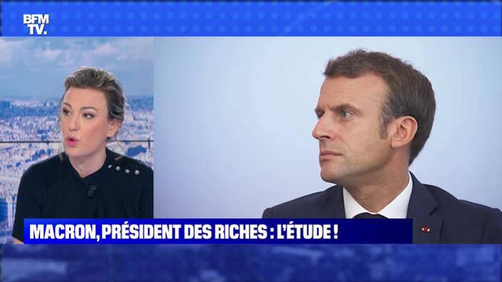 Macron, président des riches: l'étude !