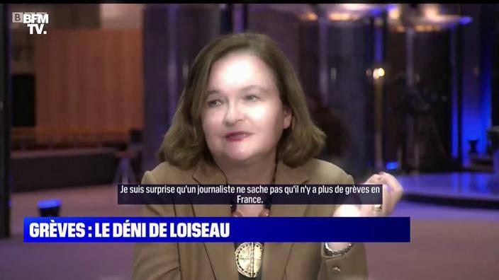 Grèves : le déni de Loiseau