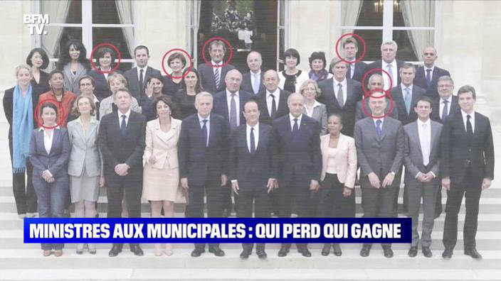 Ministres aux municipales: qui perd gagne