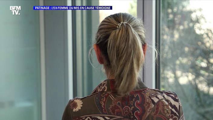 Patinage: L'ex-femme du mis en cause témoigne