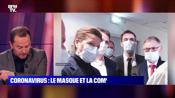Coronavirus: Le masque et la com'