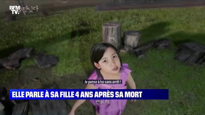 Une Coréenne parle à sa fille 4 ans après sa mort