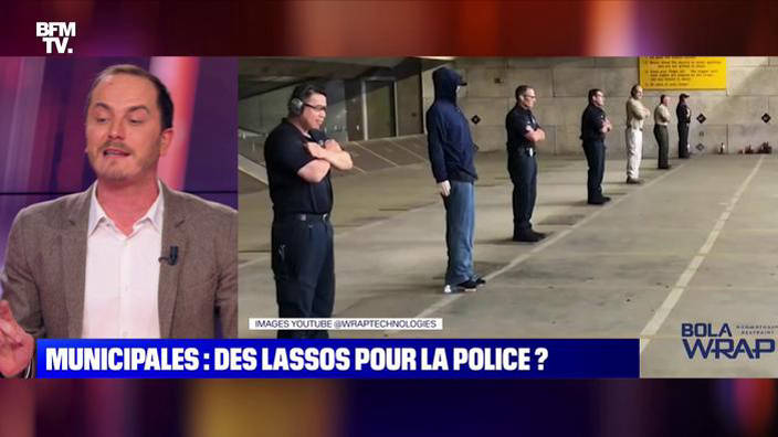 Municipales : des lassos pour la police ?