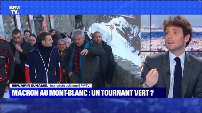 Macron au Mont-Blanc : un tournant vert ?