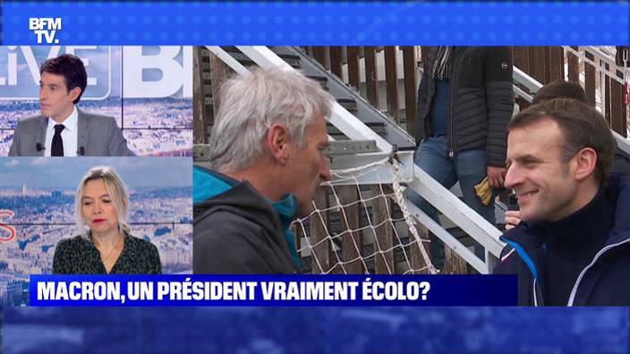 Macron, un président vraiment écolo ?