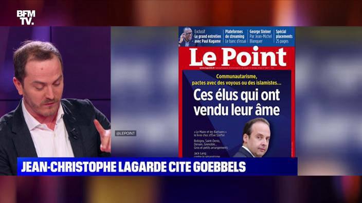 Jean-Christophe Lagarde cite Goebbels