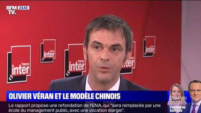 Olivier Véran et le modèle chinois