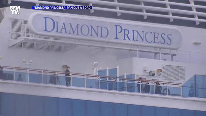 """Diamond Princess"": panique à bord"