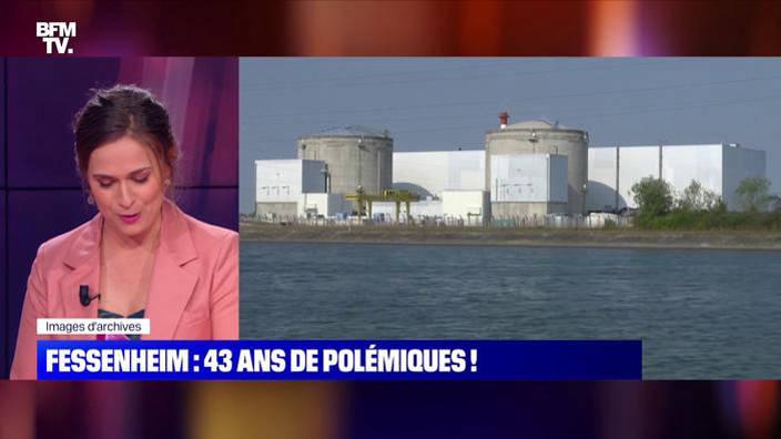 Centrale nucléaire de Fessenheim: 43 ans de
