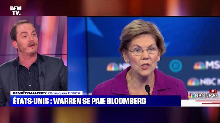 États-Unis: Warren se paie Bloomberg