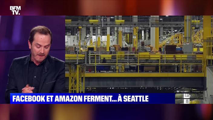 Coronavirus: Facebook et Amazon ferment à Seattle