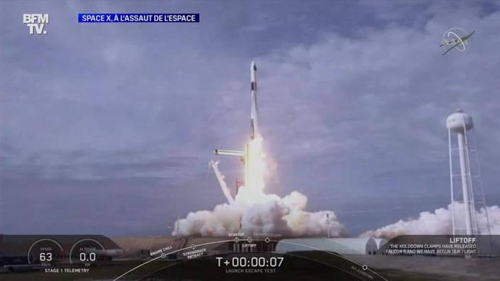 Space X, à l'assaut de l'espace