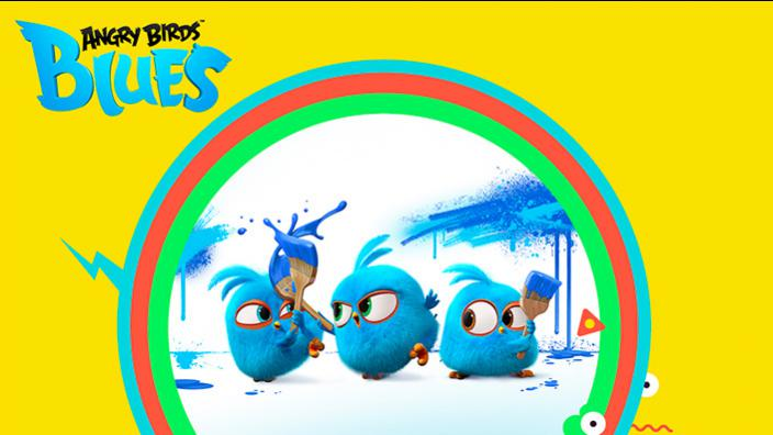 Image du programme Angry Birds Blues