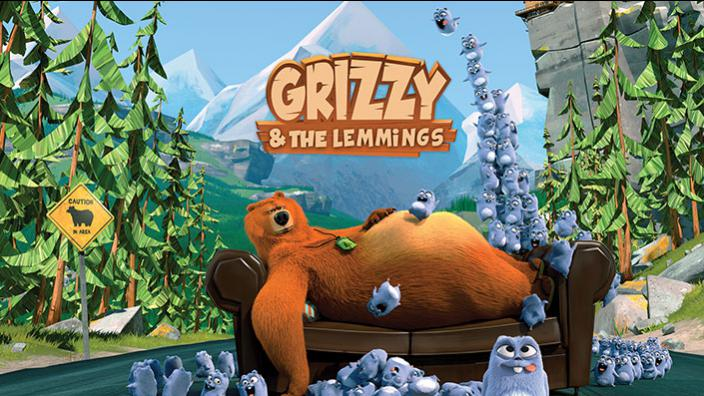 Grizzy & Les Lemmings