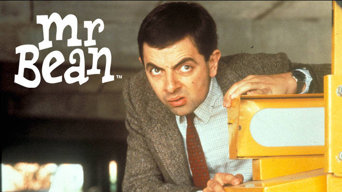 Mr. Bean coiffé au Poteau