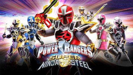 Power Rangers Super Ninja Steel S01