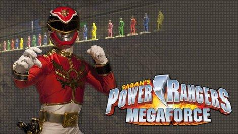 Power Rangers Megaforce S01
