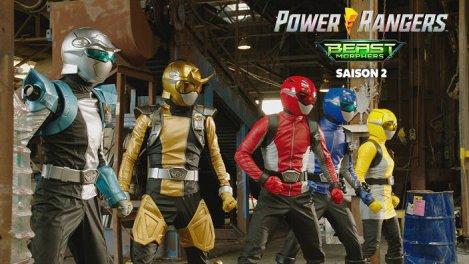 Power Rangers - Beast Morphers S02