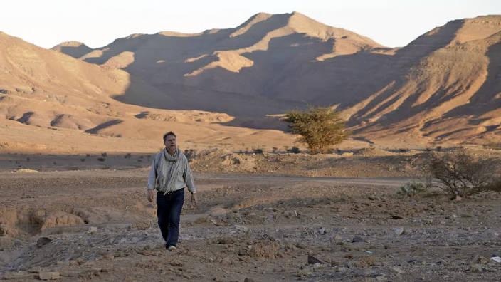 Image du programme L'homme de sable, le cinéma de Thierry Michel