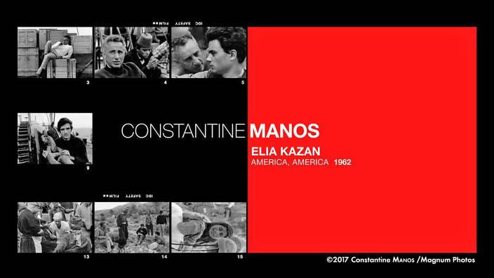 Constantine Manos : Elia Kazan, «America...