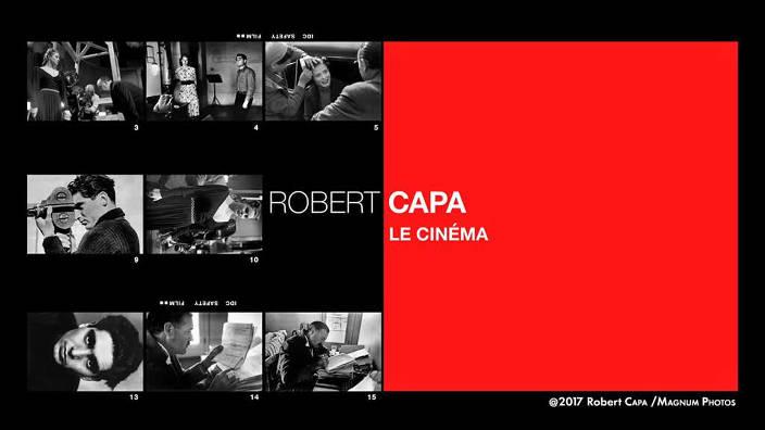 Robert Capa : le cinéma