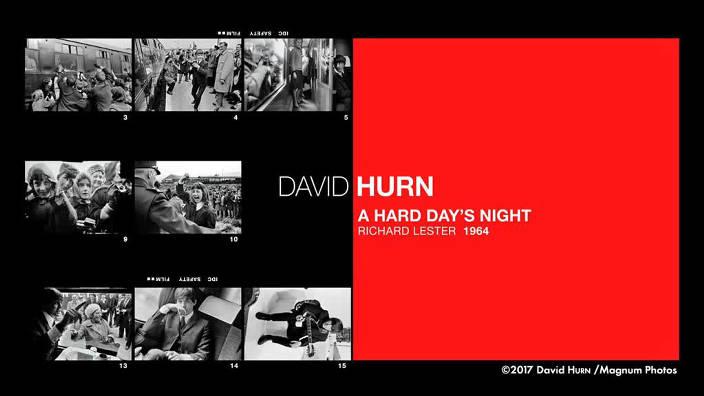 David Hurn : «The Hard Day's Night», Richard...