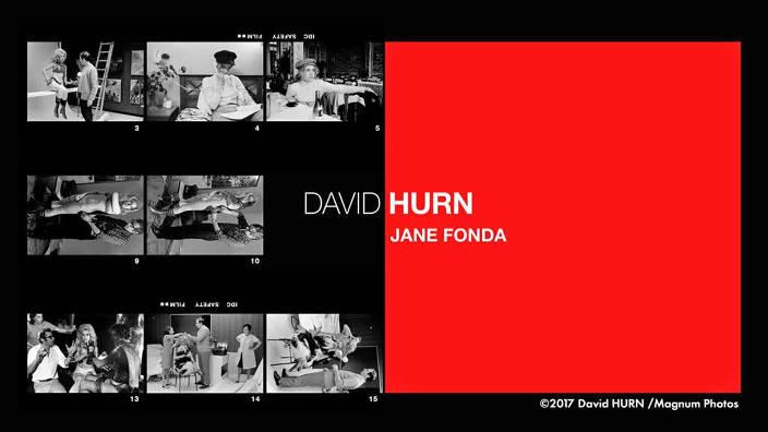 David Hurn : Jane Fonda