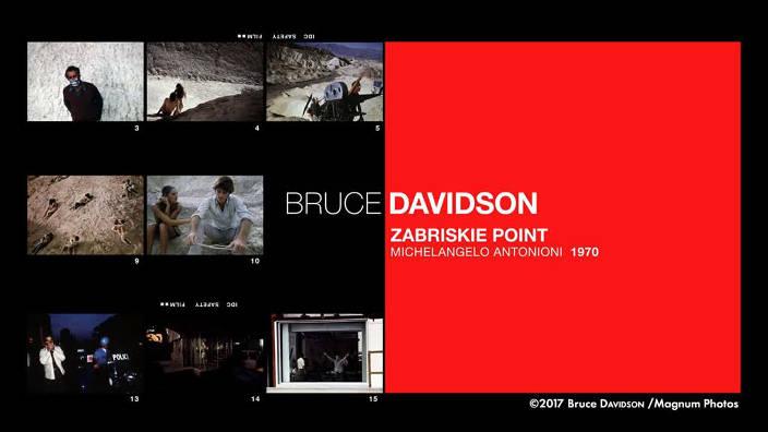 Bruce Davidson : «Zabriskie Point»,...