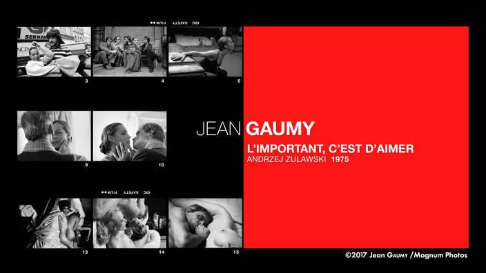 Jean Gaumy, «L'important c'est d'aimer»,...