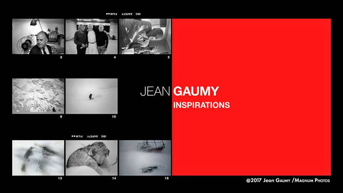 Jean Gaumy : inspirations