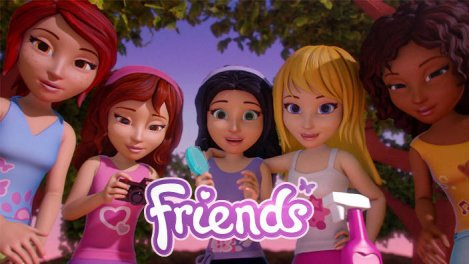 Friends: Cinq Filles En Mission