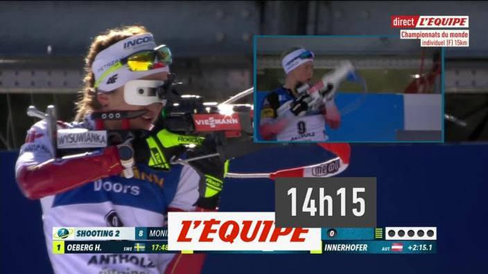 Biathlon : Individuel femme - Championnats du